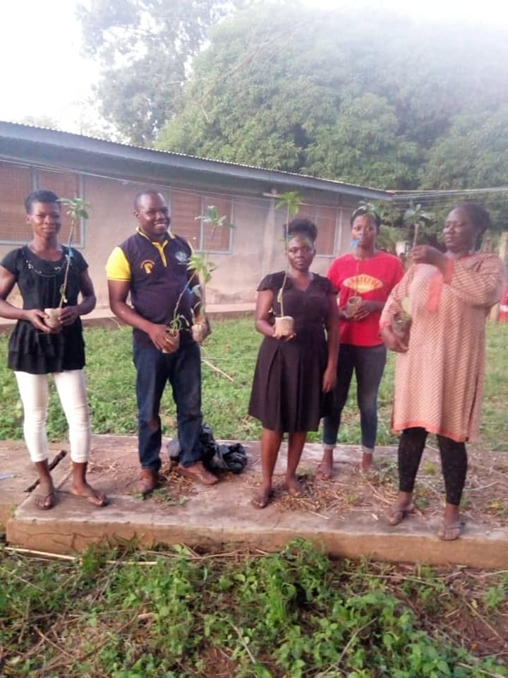 Commissioned Volunteers: Tree plantation exercise takes place in Tamale